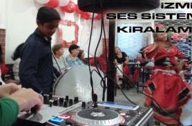 İzmir KINA GECESİ Ses Sistemi Kiralama - GSM:05546948194