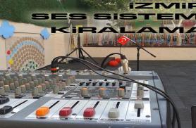 İZMİR en ucuz ses sistemi hoparlör kiralama - 250 tl - GSM:05546948194